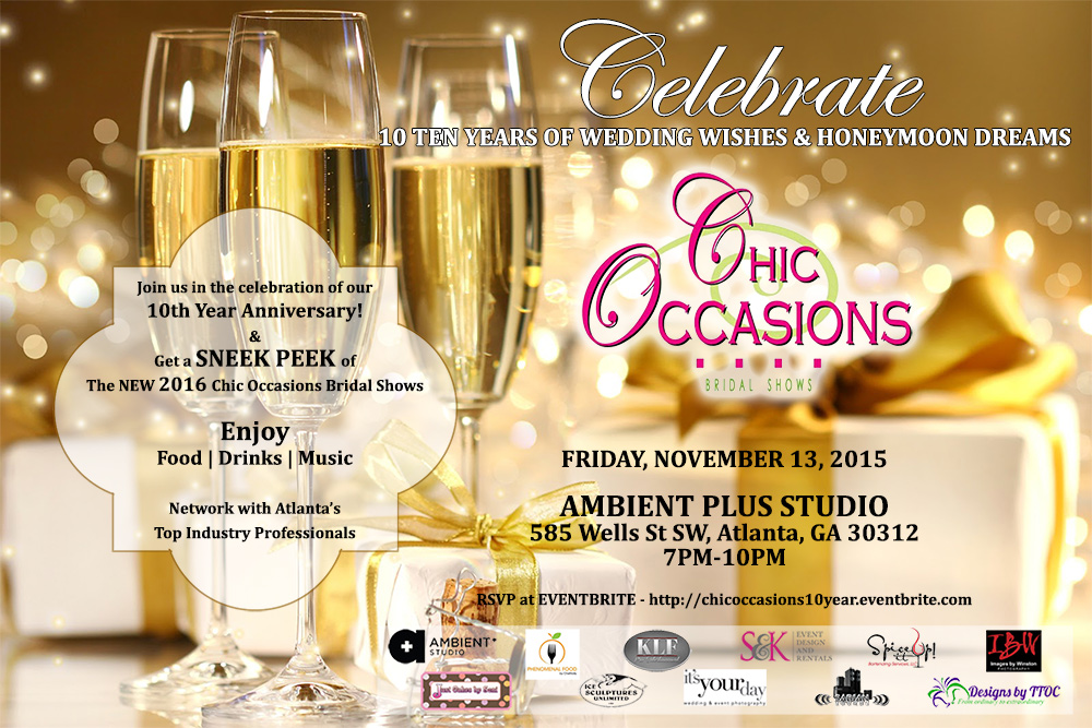Chic Occasions celebrates ten years