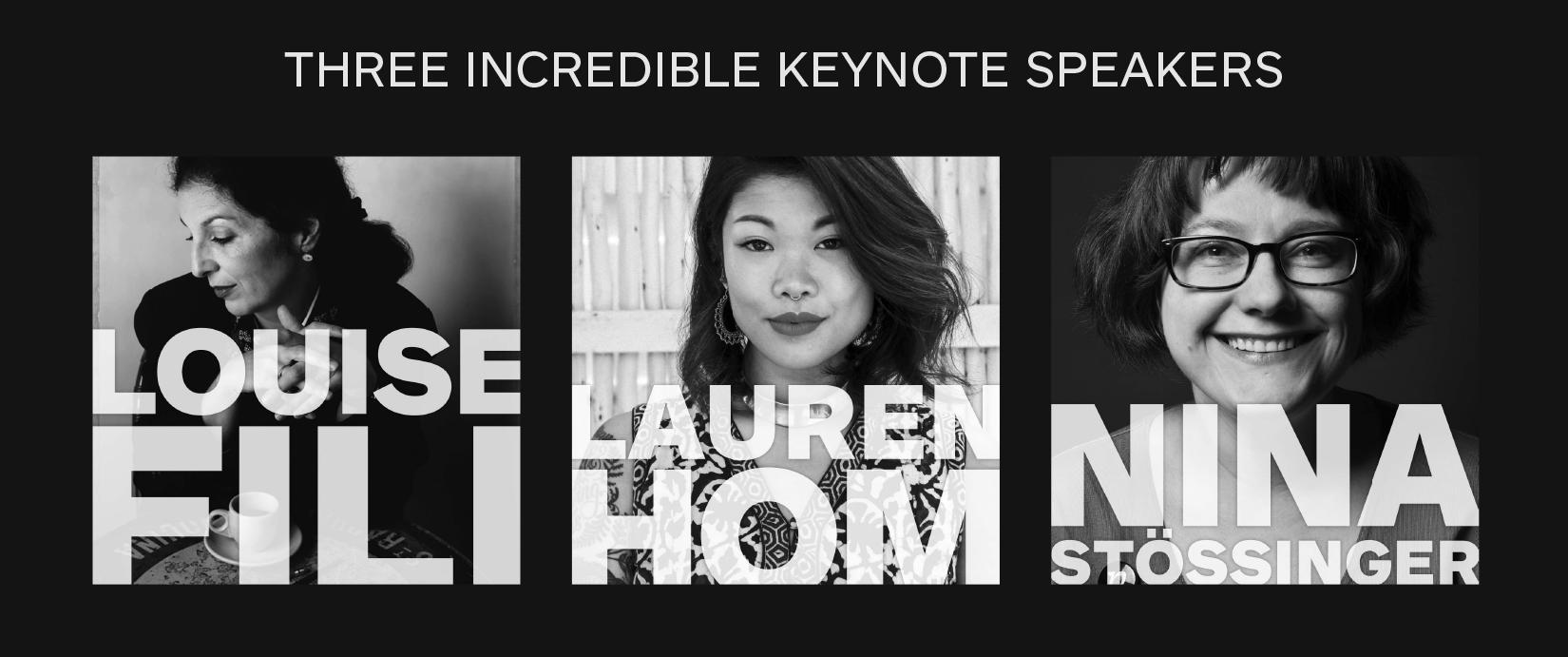 Fabulous Keynote Speakers