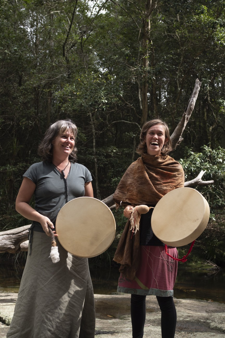 Tricia and Rahkel Shamanic drum journey