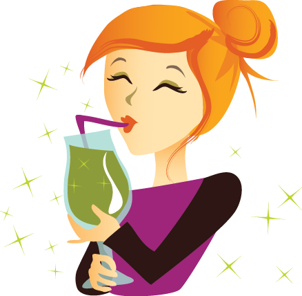 Green Smoothie Girl Sipper