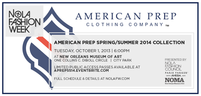 American Prep New Orleans Fashion Week