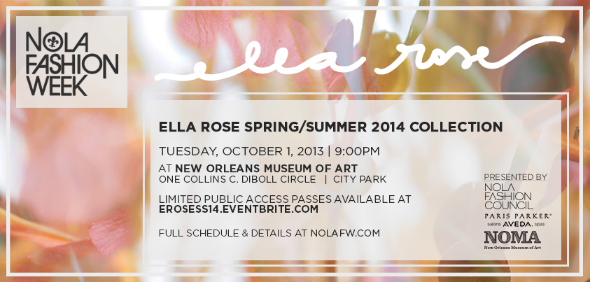 Ella Rose Designer New Orleans Fashion Week
