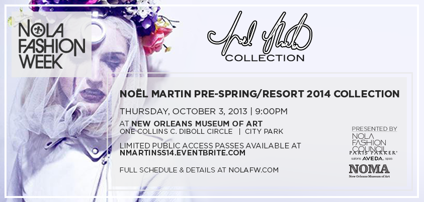 Noel Martin New Orleans Fashion Week