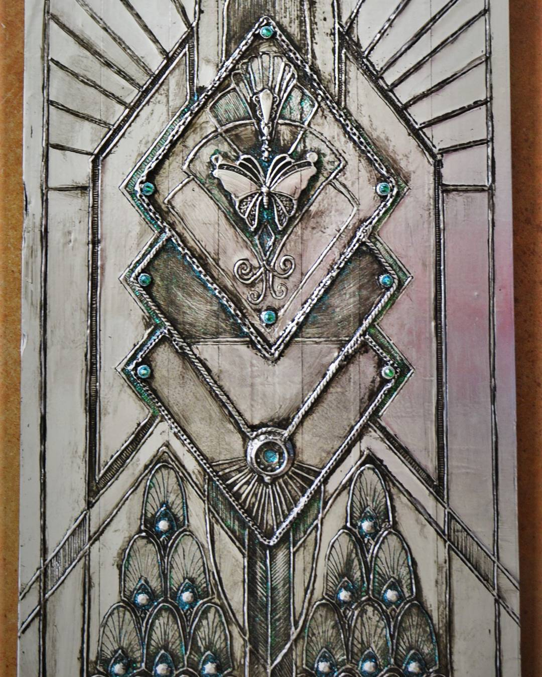 Embossed Metal Art