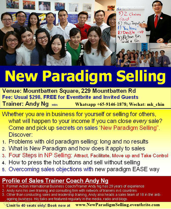 NEW PARADIGM SELLING 销售新范例. How to Sell Massively at Zero Costs!