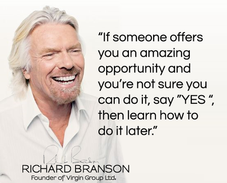 Take the opportunity