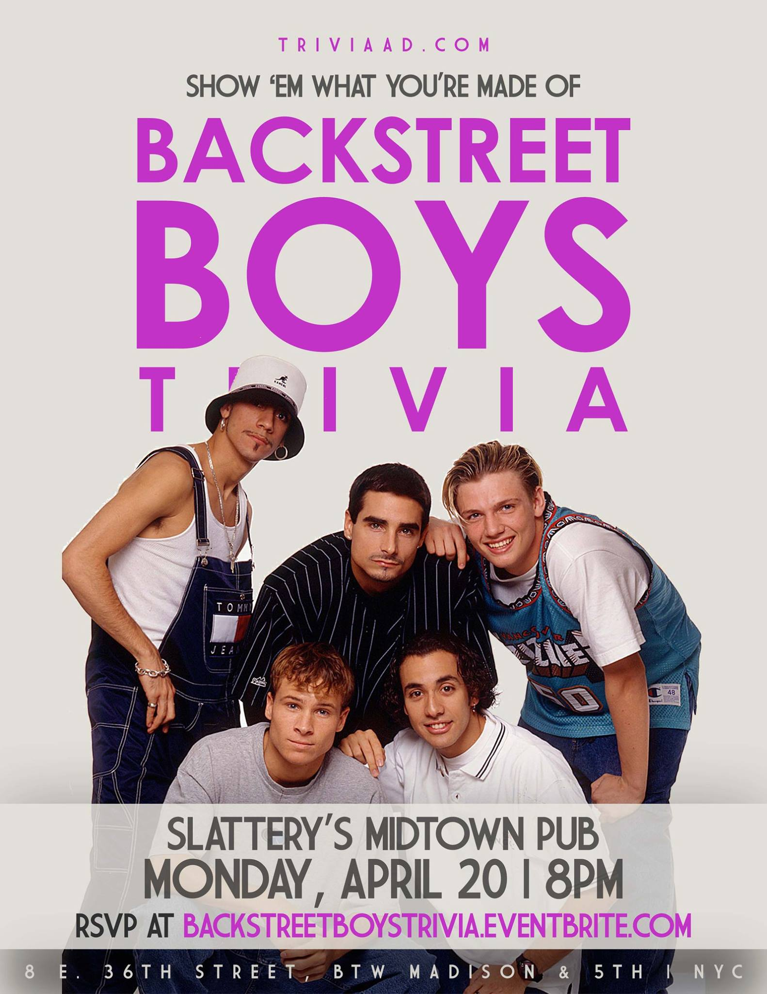 Backstreet Boys Trivia
