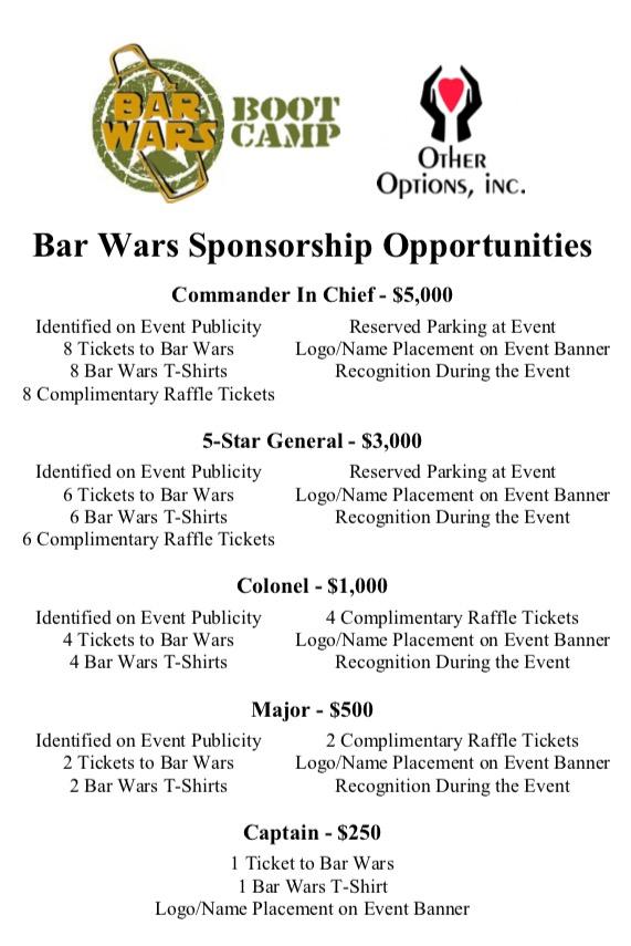 Bar Wars 2017 VI