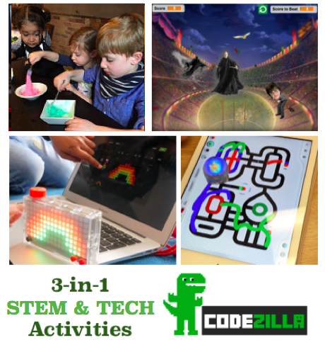 codezilla tech toys slime game makers special event