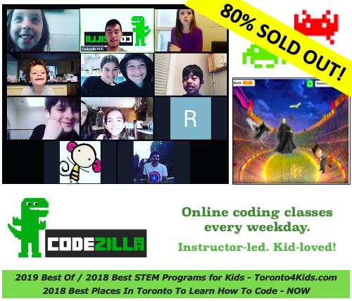 codezilla online coding classes for kids