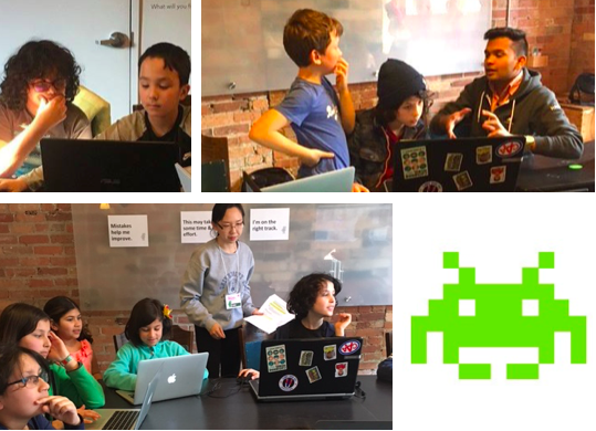 Codezilla Game Makers coding camp
