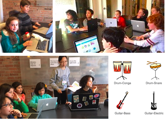 Codezilla Music Makers coding camp