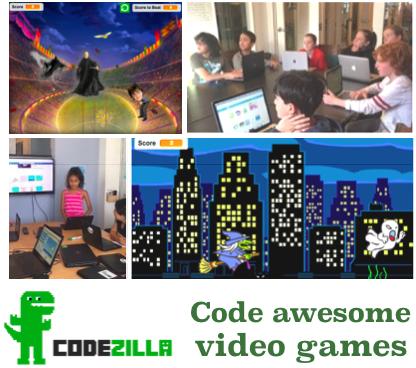 codezilla online code class for kids