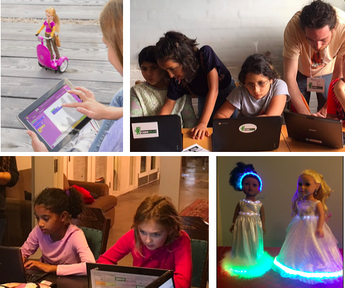 codezilla summer camp dolls and coding
