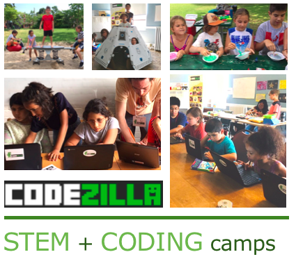 codezilla Space Makers summer camp