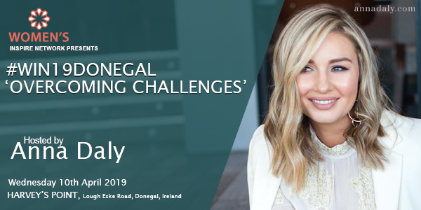 Anna Daly Hosts Win19Donegaal