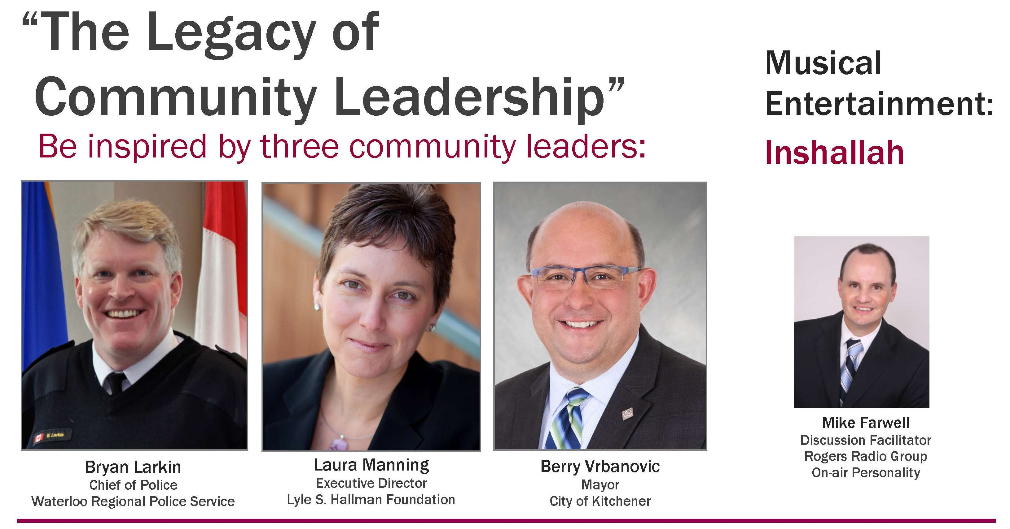 Be inspired by 3 Community Leaders