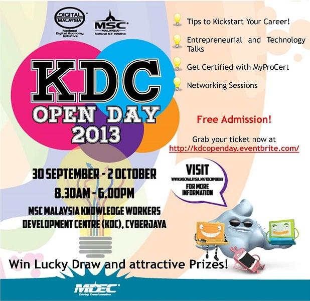 KDC Open Day 2013