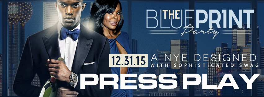 The BLUE PRINT NYE party