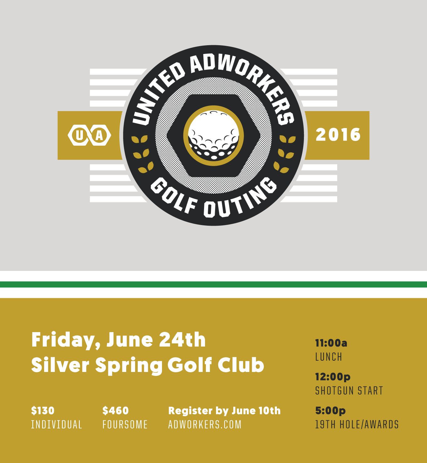 United Adworkers Golf Outing