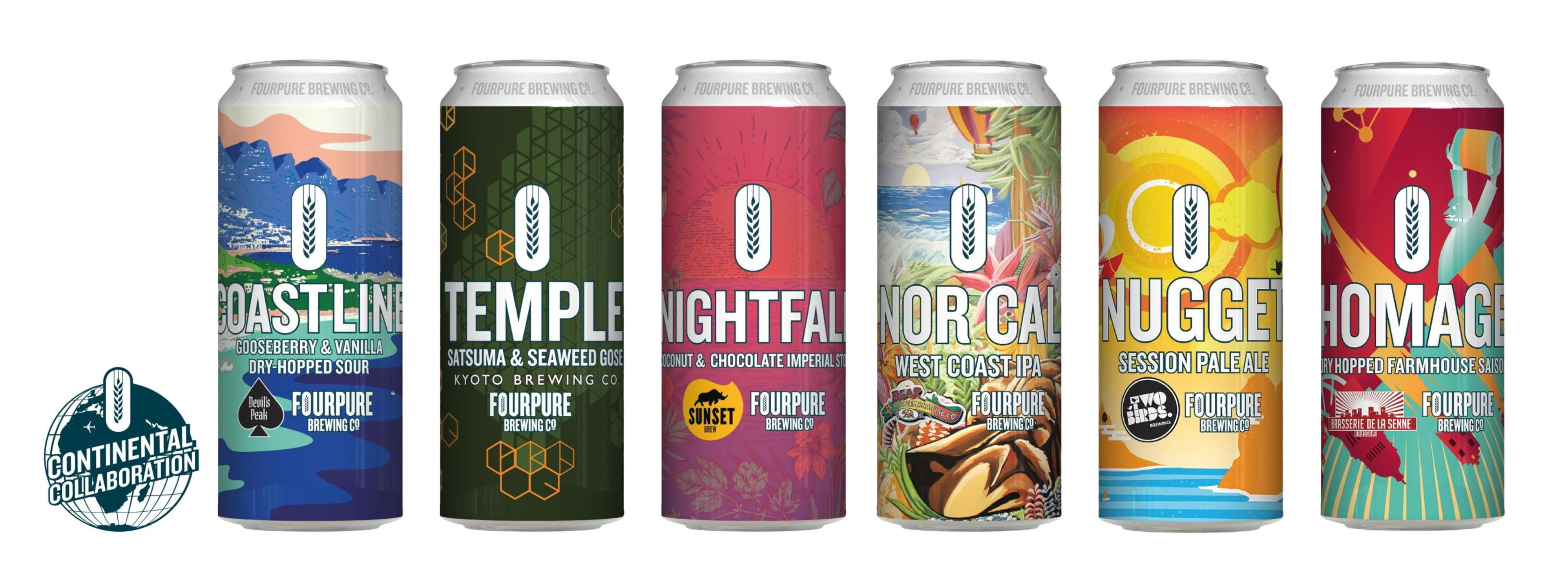 Continental Collaboration cans