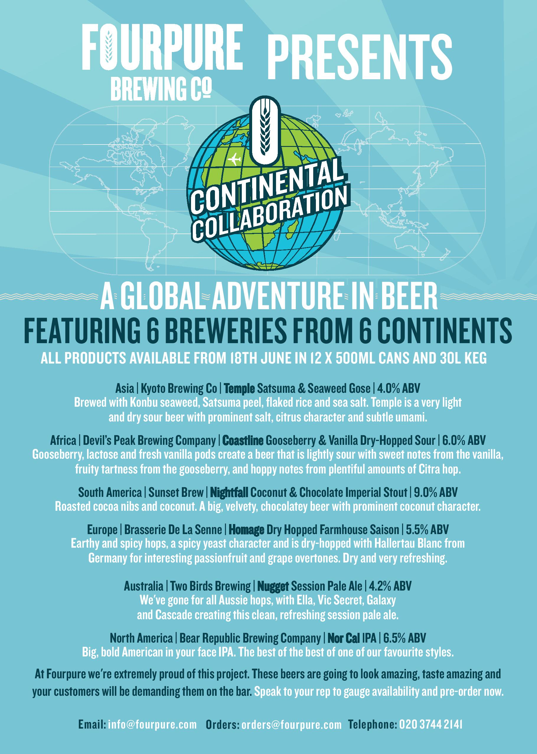 Continental Collaboration Beer Info