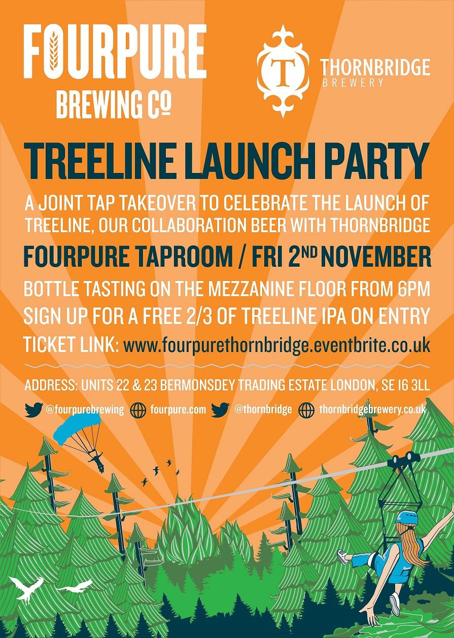Treeline Launch Poster