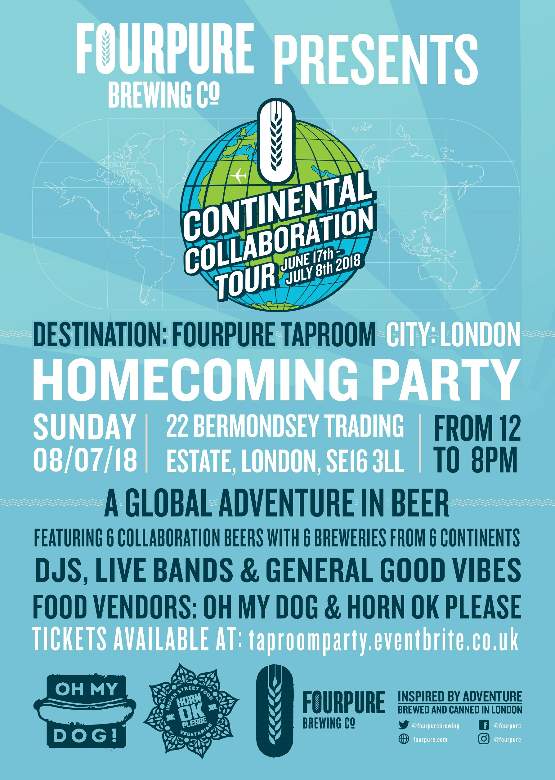Homecoming Party Poster