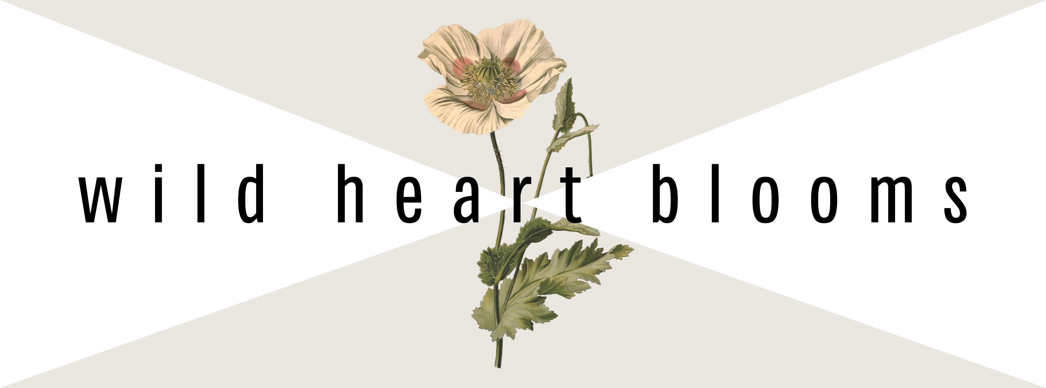 Wild Heart Blooms logo