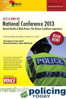 Policing & Mental Health, Coercion or Care? ACCI & BMH UK...