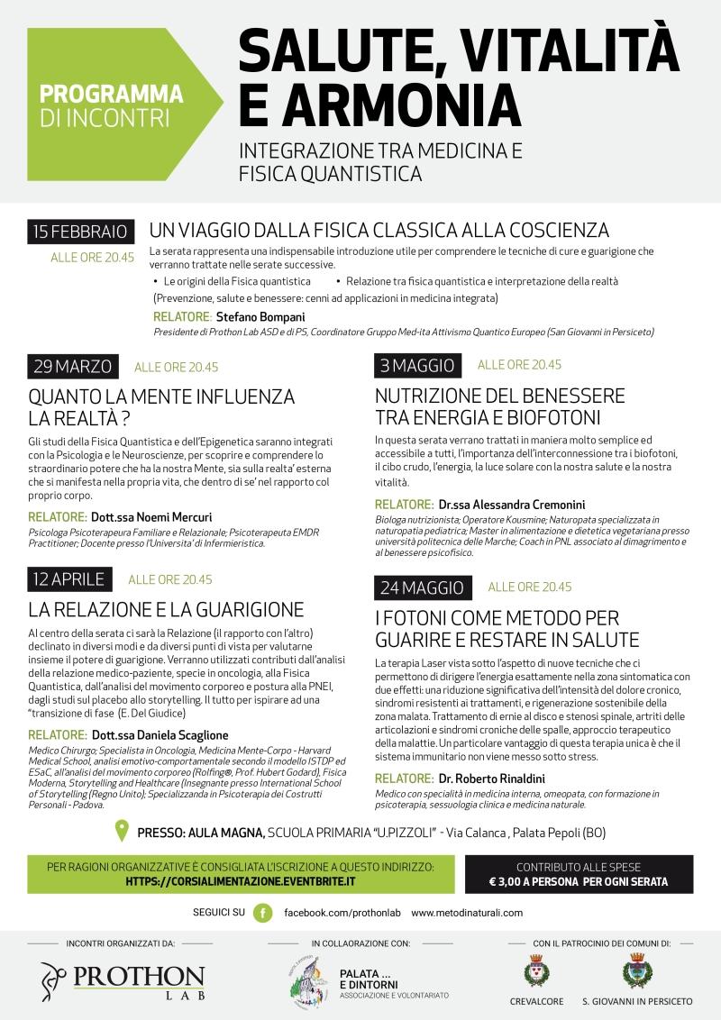 Corsi Fisica Quantistica San Giovanni in Persiceto - Crevalcore