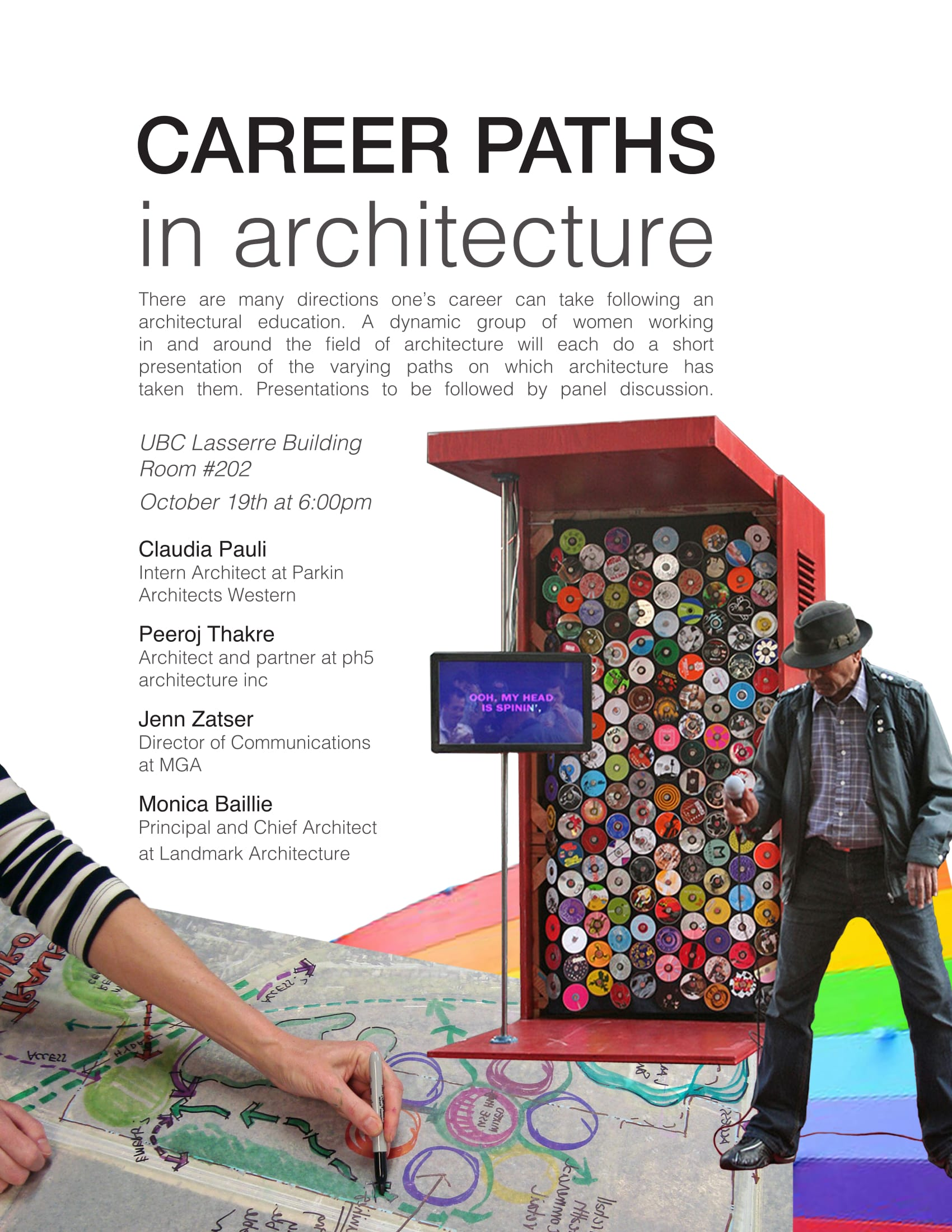 WIA Vancouver Career paths in architecture UBC