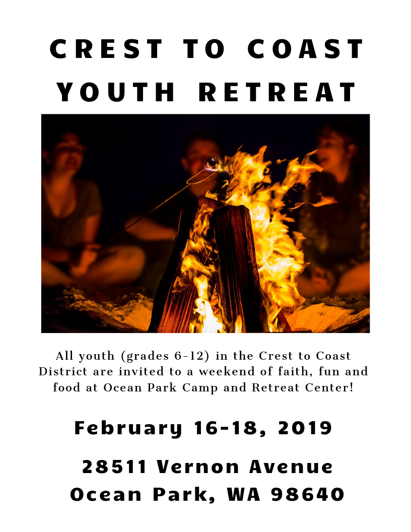 Youth Retreat Flyer