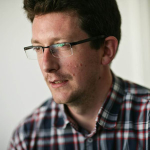 James Chudley, co-author of Smashing UX Design