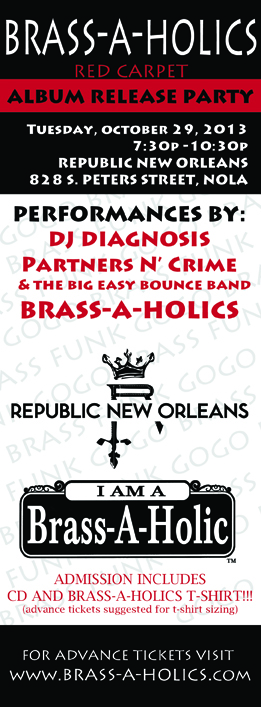 Brass-A_Holics Album Release Party