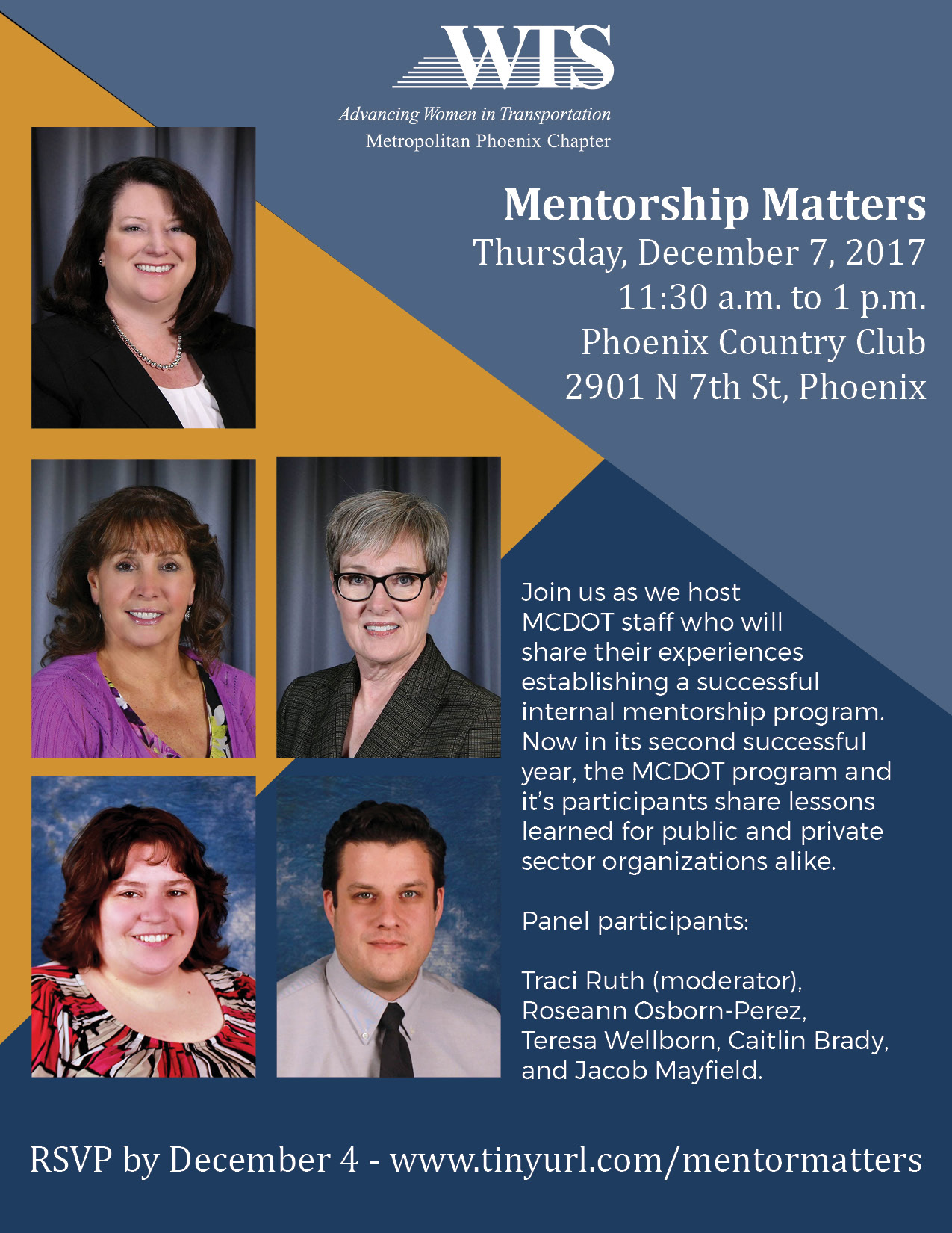 WTS Mentorship Matters @ Phoenix Country Club | Phoenix | Arizona | United States
