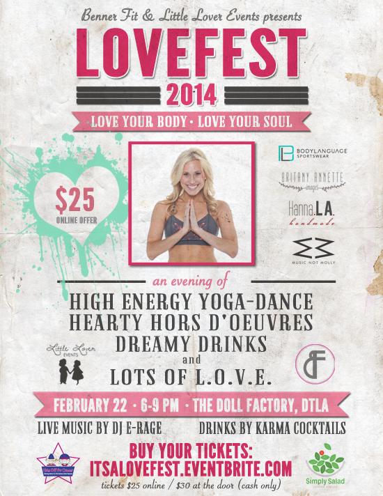 LoveFest Poster