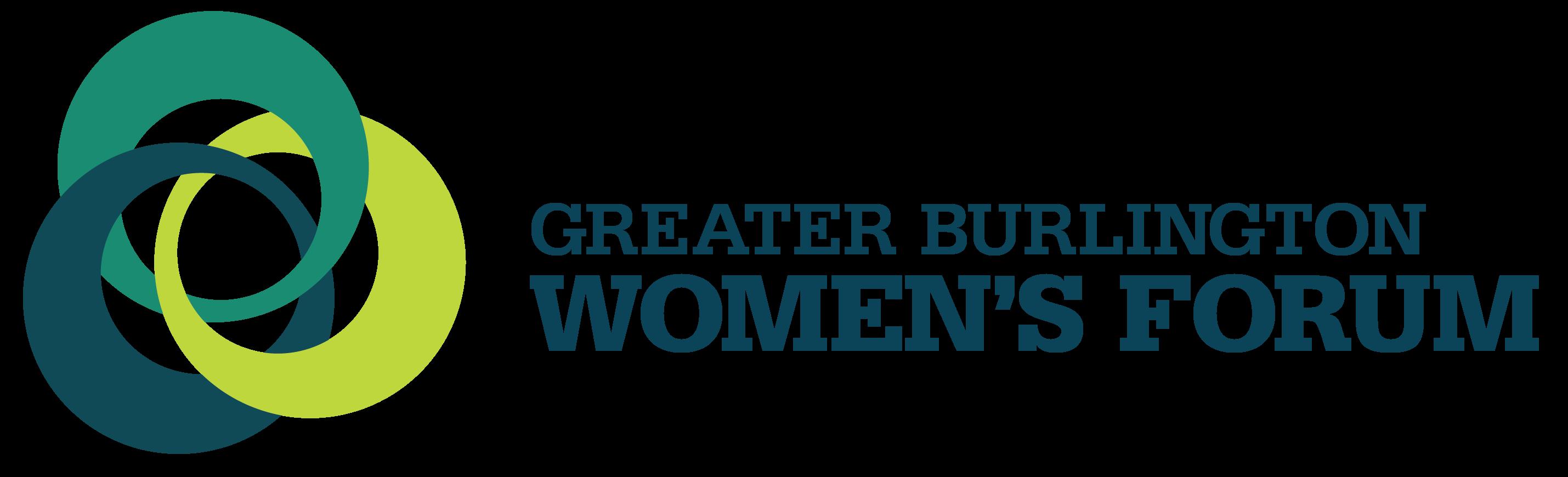 Greater Burlington Women's Forum Logo