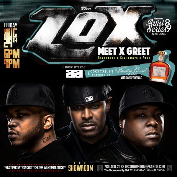 The Lox At The Showroom By 8&9 Clothing