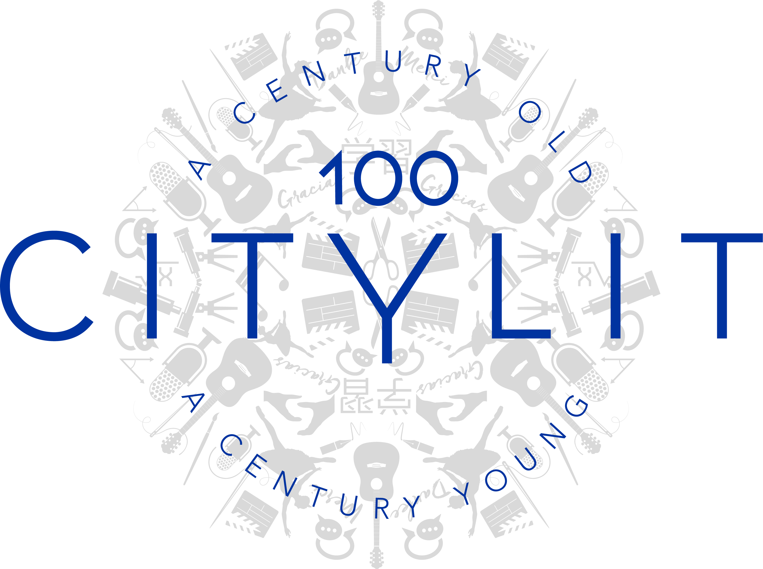 City Lit centenary logo