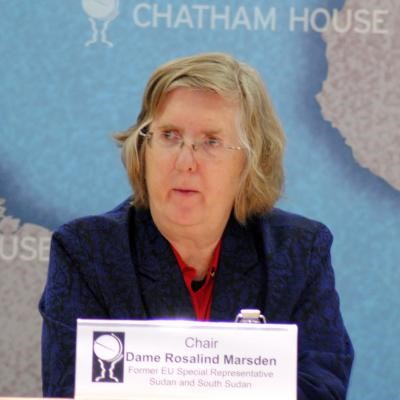 Dame Rosalind Marsden