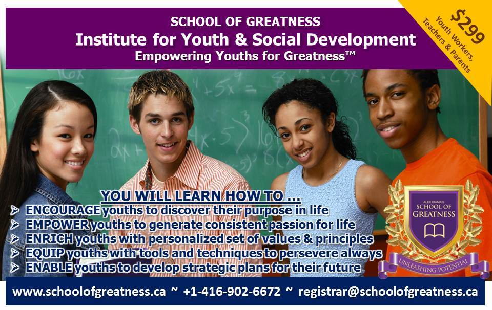 Empowering Youths for Greatness