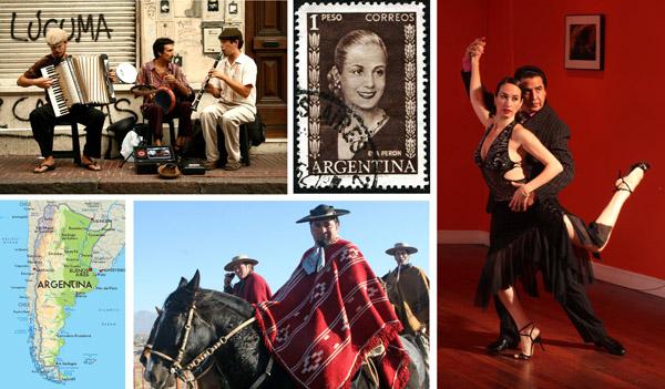 Argentina collage