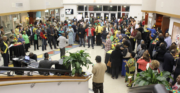 Jamaica crowd