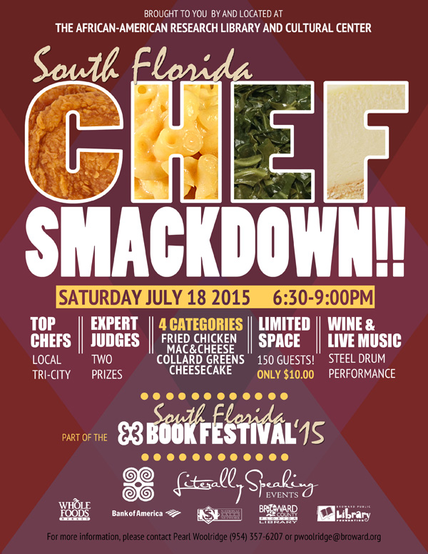 Chef Smackdown flyer