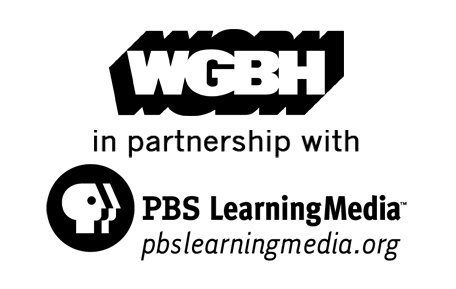 WGBH logo, in partnership with PBS Learning Media