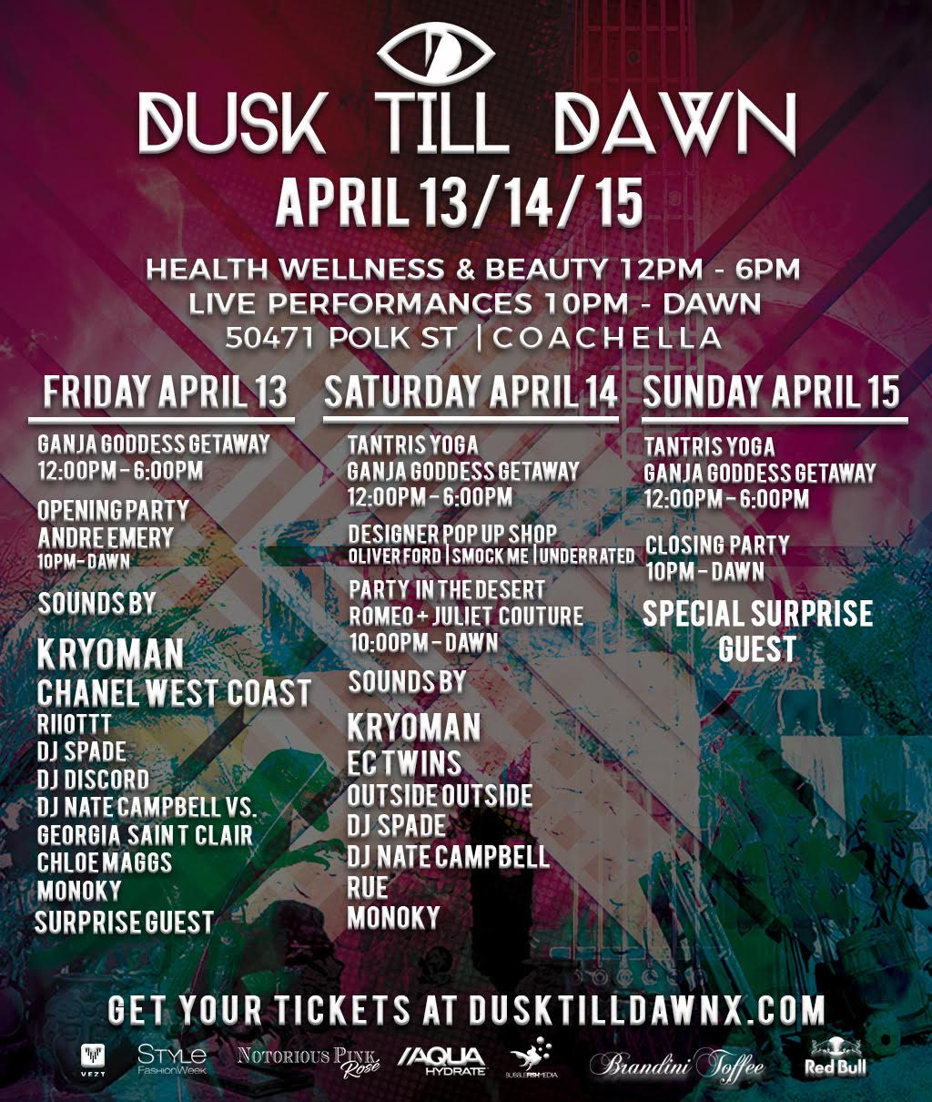 Dusk Till Dawn Weekend 1