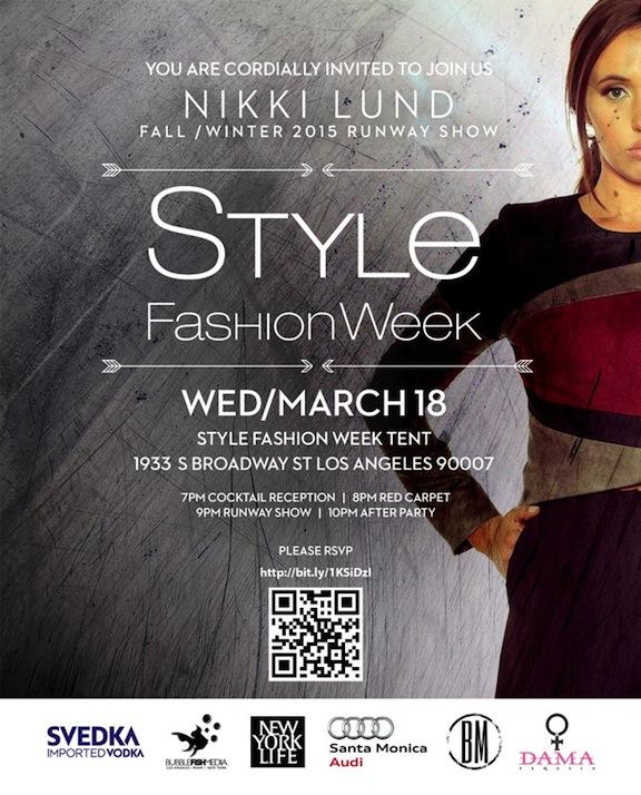 Style Fashion Week Media Credentials Registration Wed