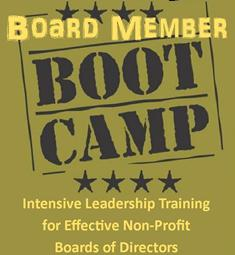 Board Member Boot Camp Logo