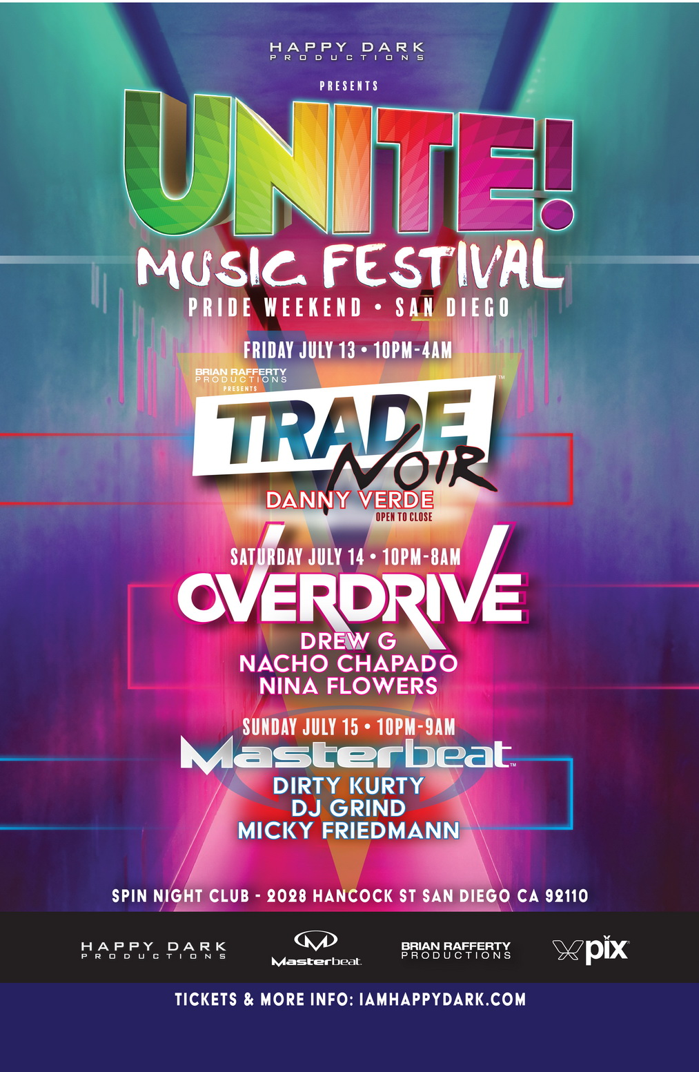 UNITE! Music Festival 2018 Lineup